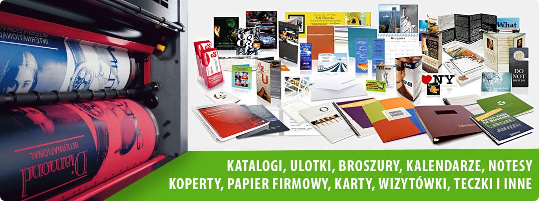 Szeroki wybór usług drukarskich
